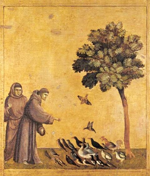 Giotto - Saint Francis preaching to the Birds